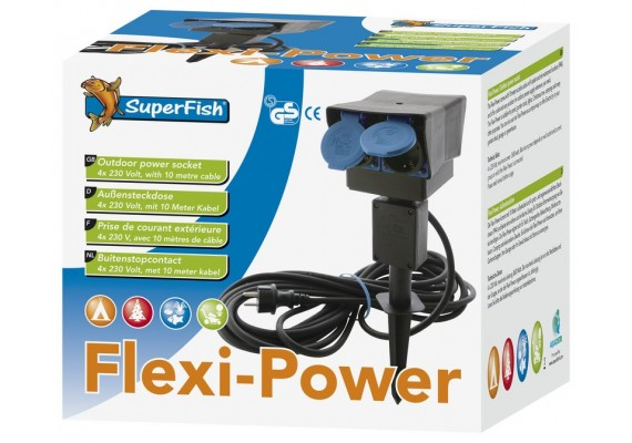 Flexi powers 4 prises