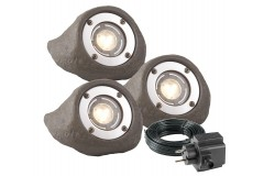 Lapis led complet set, gris