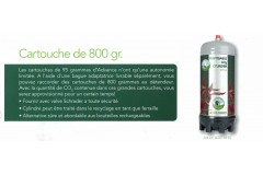 Colombo cylindre co2 800 grammes