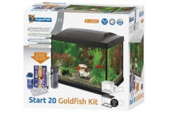 Sf aqua start 20 goldfish kit noir