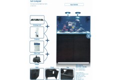 Blue marine reef 350 noir kit complet
