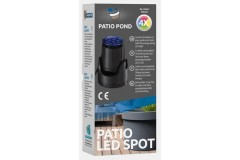 Sf patio pond led spot