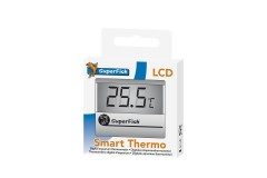 Sf thermomètre smart lcd argent