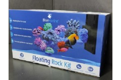 Blue marine floating rock set droit